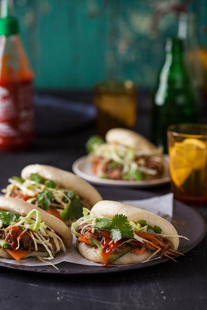 Top Pulled Pork Sandwiches To Make TONIGHT! - Gua Bao With Hoisin And Ginger Pulled Pork