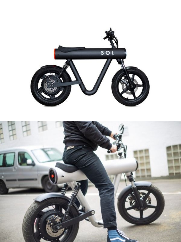 Sol Pocket Rocket Electric Bike With App Connectivity Electric