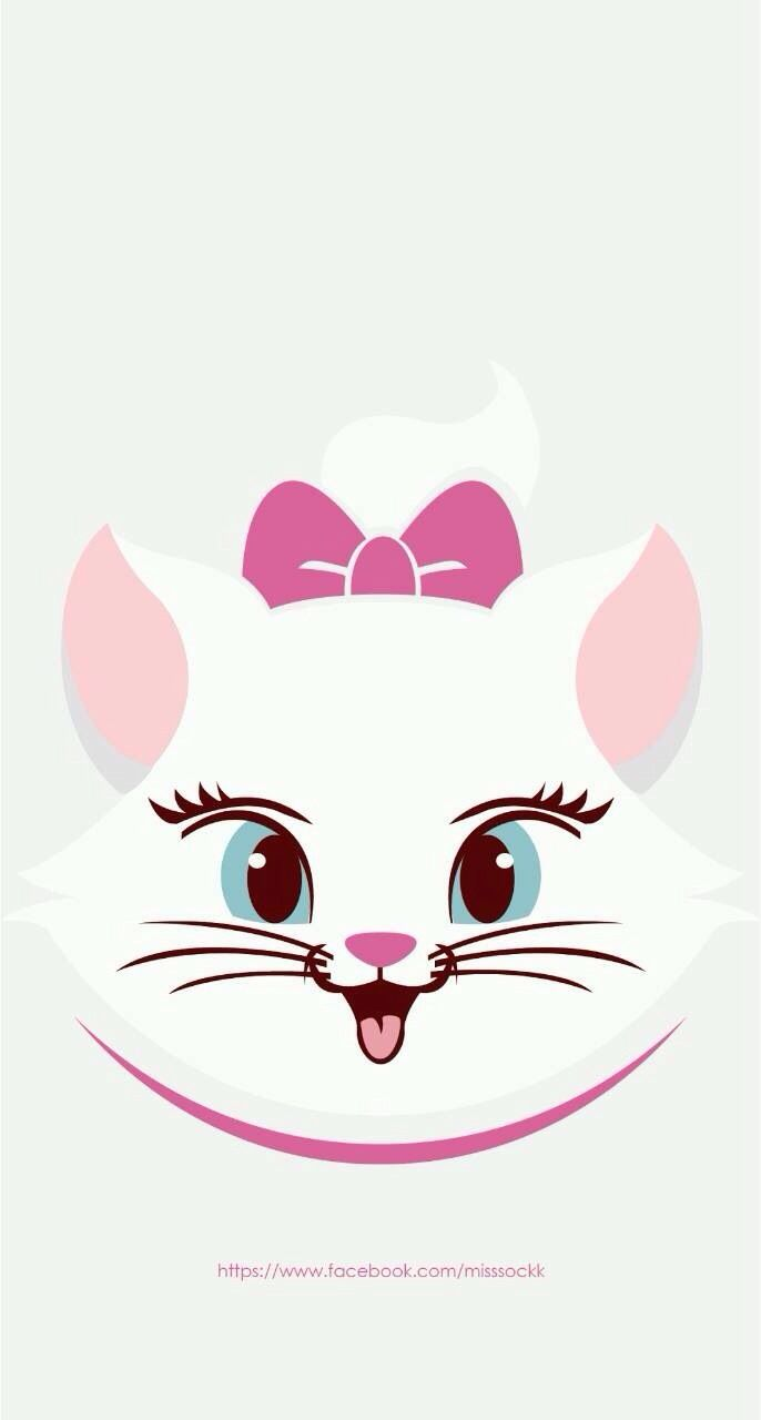 Marie ★ Find more Cute Disney wallpapers for your iPhone