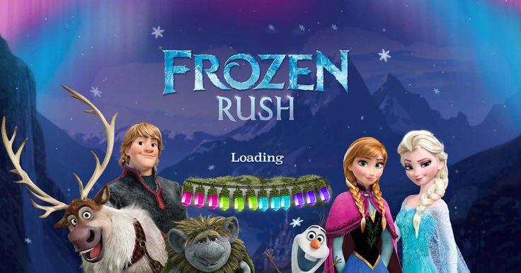 Play Frozen Rush - HTML5 Adventure Running Game