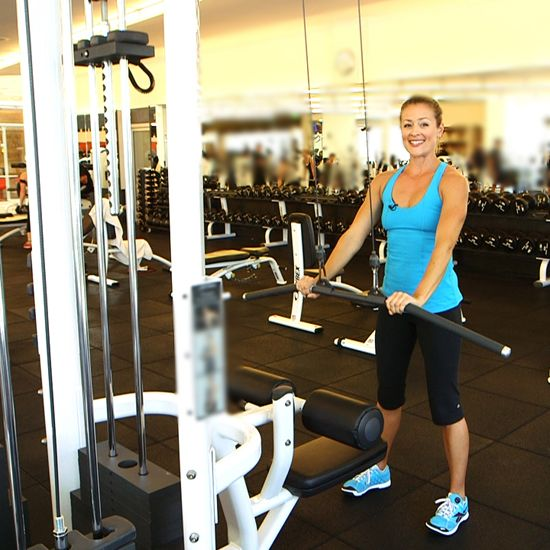 3 Ways to Work Your Back and Arms With the Lat Pull Machine-Visit our website at http://www.communityfitnesscenters.com for a FREE TRIAL PASS