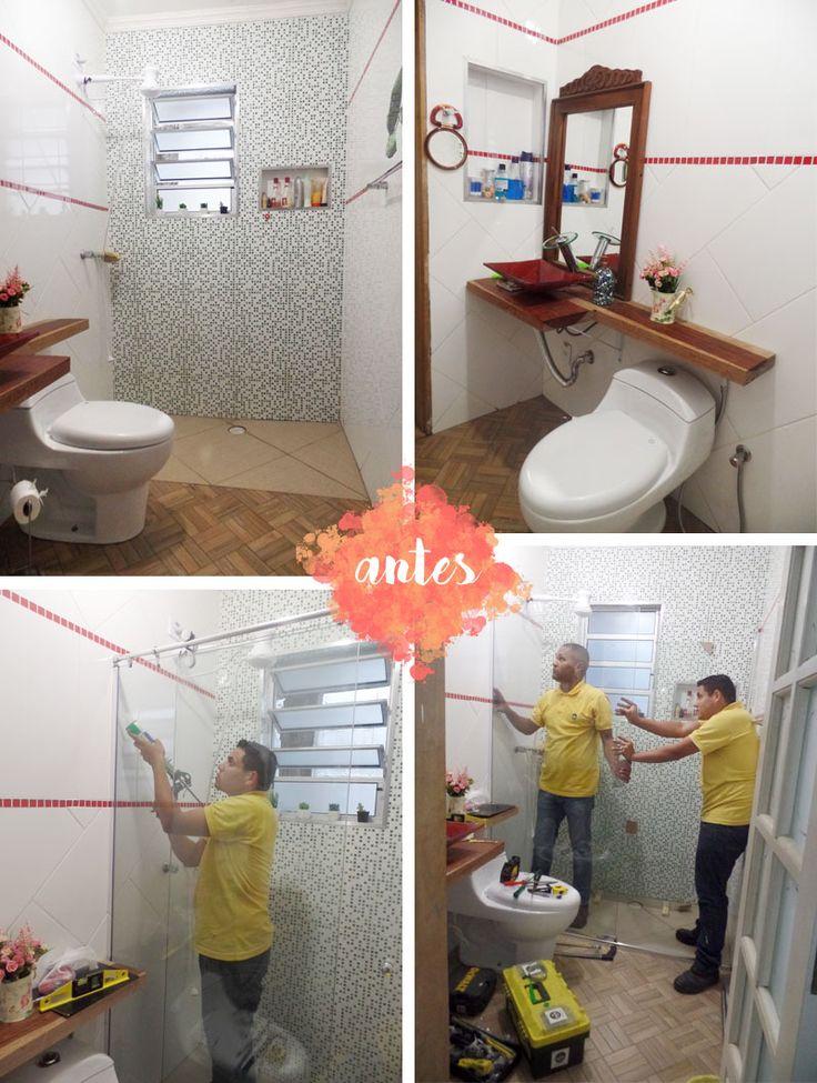 17 melhores imagens sobre Ideias para a casa no Pinterest  Madeira, Mesas de -> Banheiro Decorado Com Reciclagem