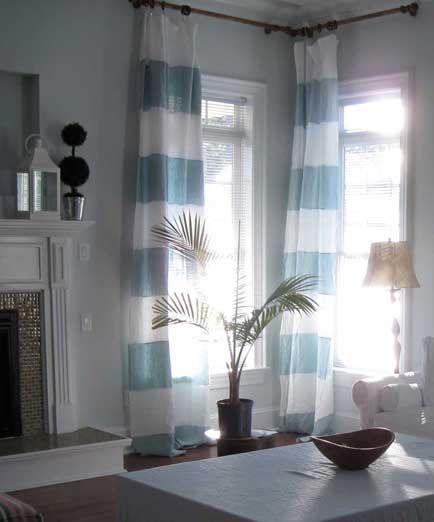 St. Barts curtains from Rough Linen. LOVE them. dont love the $200 price tag.
