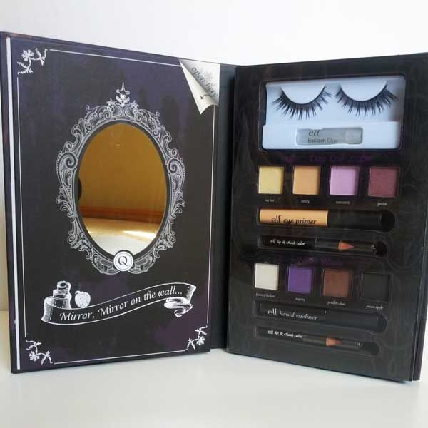 ELF (Eyes Lips Face) Disney Villains Evil Queen's Devious Dramatic Eye Shadow Palette Review. Featuring lots of pictures, swatches and my thoughts on this new makeup book!!