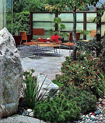 1963 mid century modern landscaping vintage landscape architecture