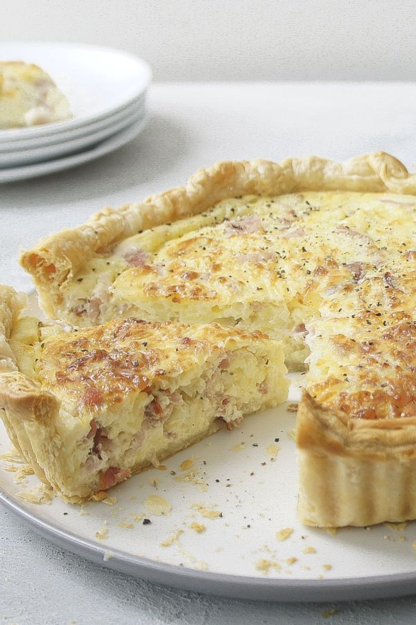 Sour Cream Quiche Recipe Recipes Quiche Recipes Savoury Food