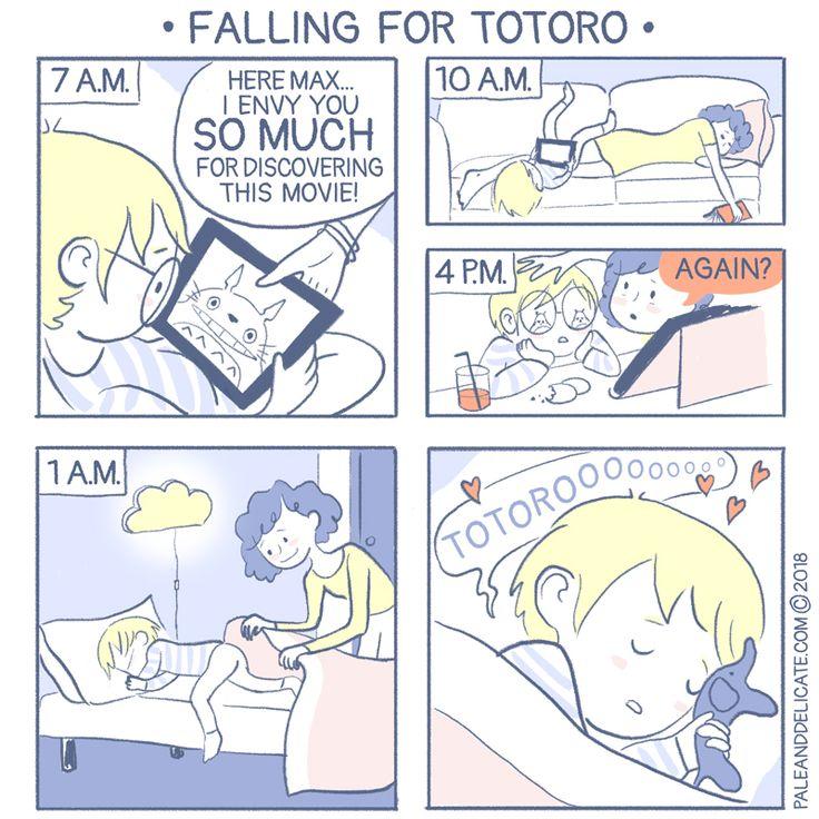 comic webcomic totoro parenthood