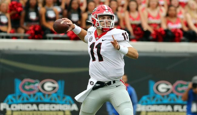 Georgia Vs Missouri 11 9 19 College Football Pick Odds And Prediction College Football Picks Football Picks Football