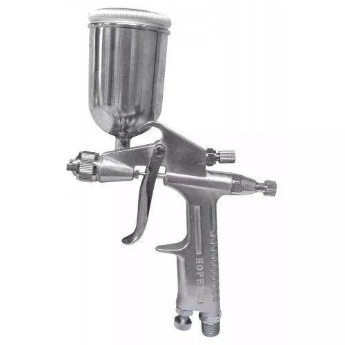 pistola de pintura aerografica aerografo 150 ml f-2 hopex