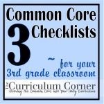 Third Grade Common Core Checklists - make sure your covering all of the standards!  These are great because there are multiple columns for you to track each time you visit a standard.  Also available in other grade levels.