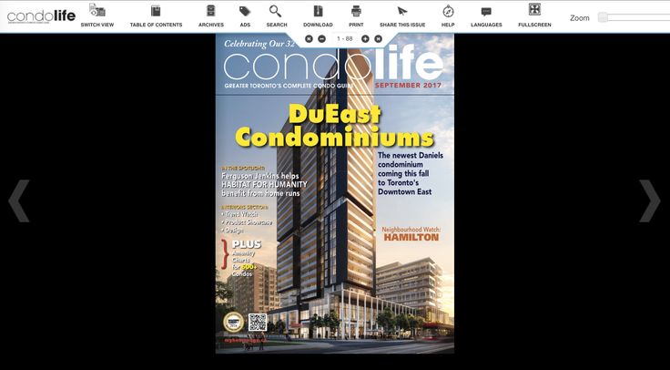 Find your new condo today with Condo Life! Read it free by clicking this link: http://digitalcondolife.myhomepage.ca/2017/September/?1