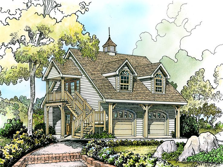 60 best images about carriage house plans on pinterest for Carriage house apartment plans