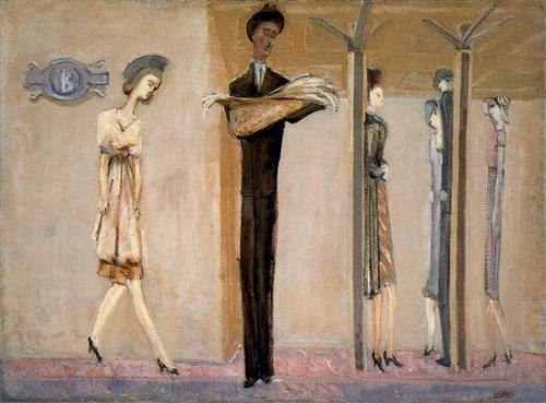 Underground Fantasy - Mark Rothko - Expresionism