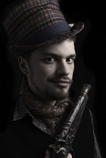 Steampunk Self-Portrait | Flickr - Photo Sharing!