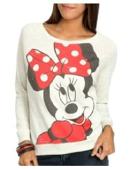 Wet Seal Womens Sweatshirt Oatmeal