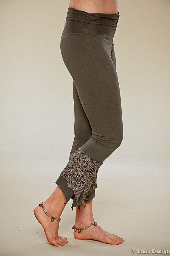 Net Leggings - Yoga Pixie Pants -
