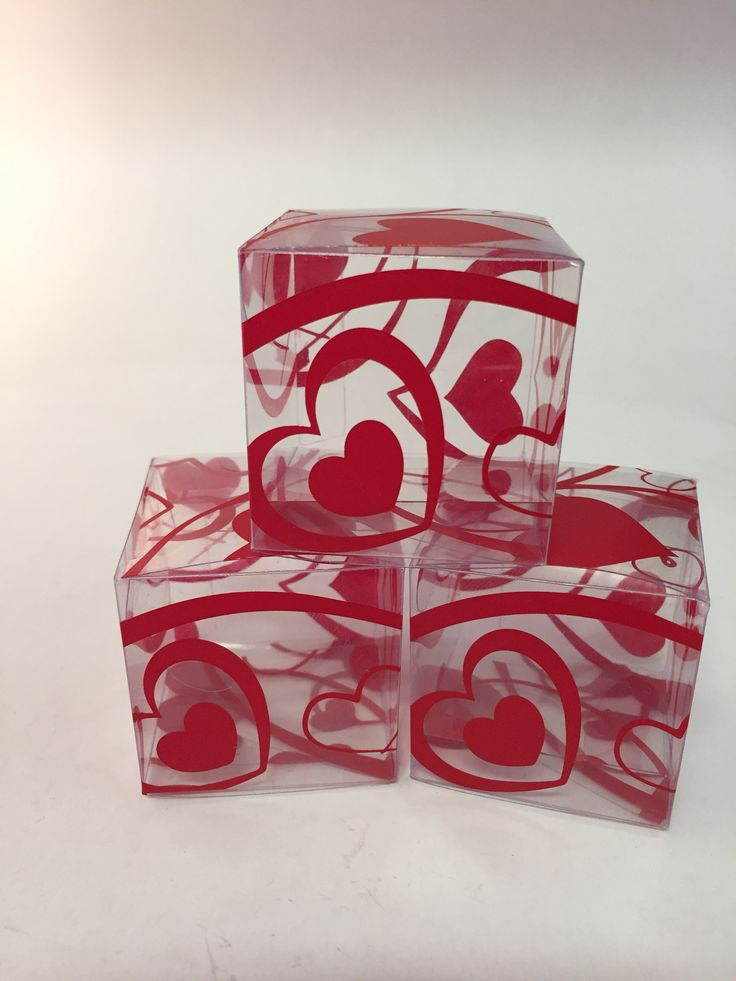 An example of our love heart printed boxes! We can print anything - any logo or any design