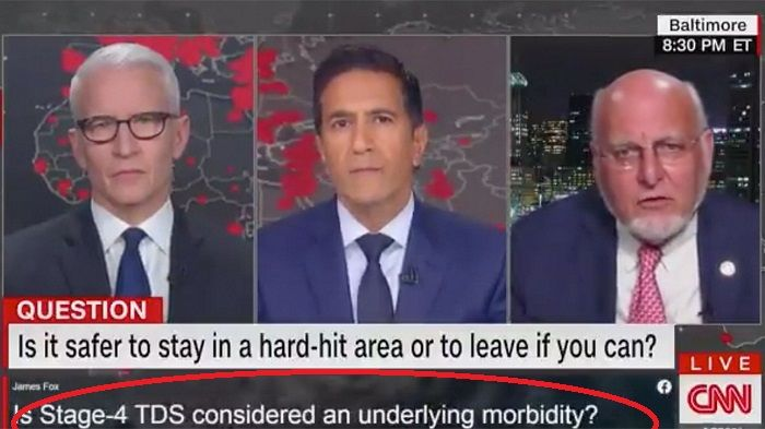 Somebody Slipped A Question About Trump Derangement Into A Cnn