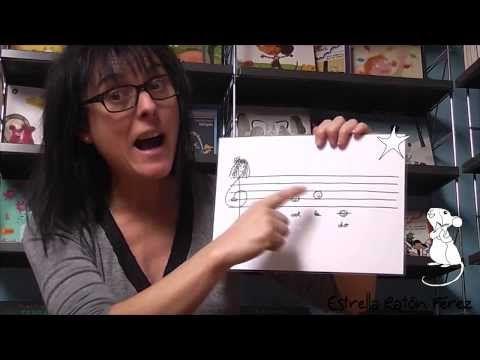 Cuento infantil: RE-FA-SI (pentagrama, clave de sol, notas musicales) de Estrella Ramon. - YouTube