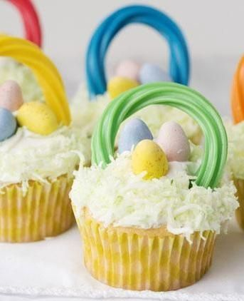 135 best easter recipes craft ideas and free printables images on easter basket cupcakes negle Choice Image