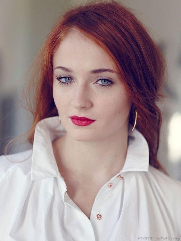 ❤️ Redhead beauty❤️ Sophie Turner