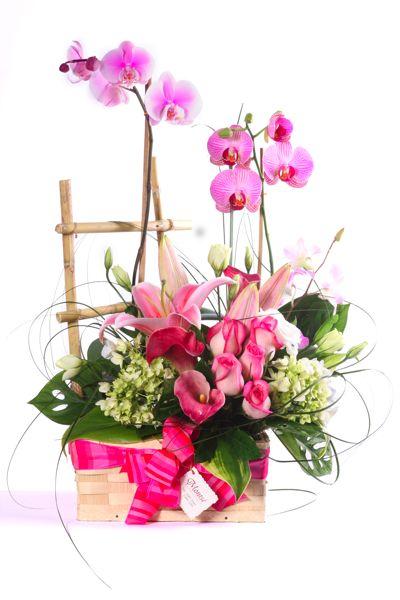 arreglos florales con orquideas3