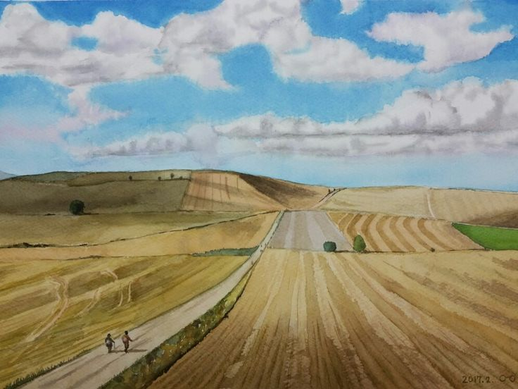 Landscape  watercolor