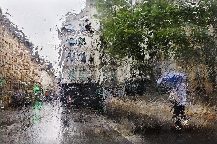 Paris in the rain - Brouillée  ©christophejacrot