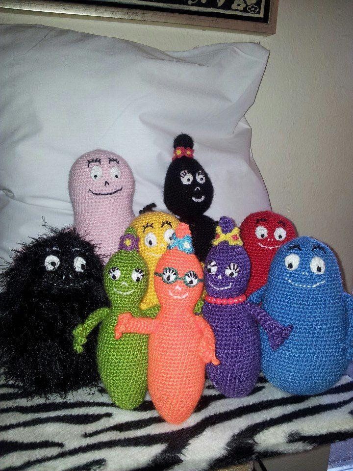9 Best Haken Barbapappa Images On Pinterest Crochet Toys