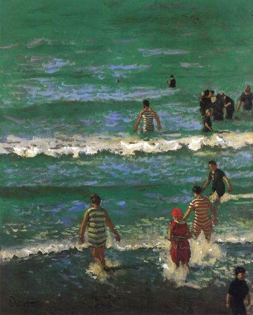 Walter Richard Sickert Bathers at Dieppe c. 1902, oil on canvas,Walker Art Gallery, Liverpool