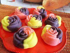 Resep Bolu Kukus Mawar - Resep Kue Indonesia #resep #masakan