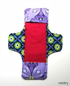 cloth menstrual pads sewVery: Days for Girls Charity Project