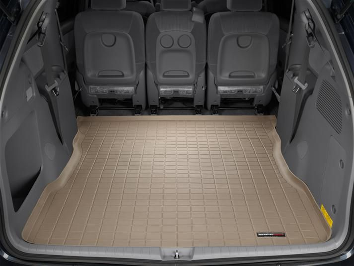 2008 Toyota Sienna Cargo Mat And Trunk Liner For Cars