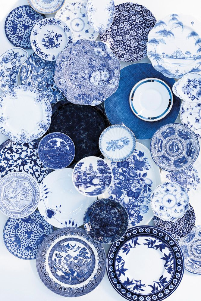 Oh I want my moms blue patterned plates that we collected together so badly. Its a great memory I have with her.