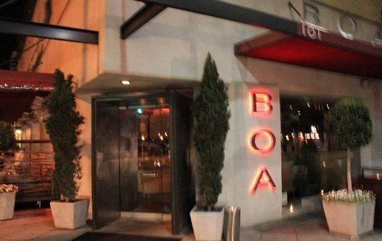 #SMpinspiration.  Boa | They have my wine on their list | Flying Wine Cellars