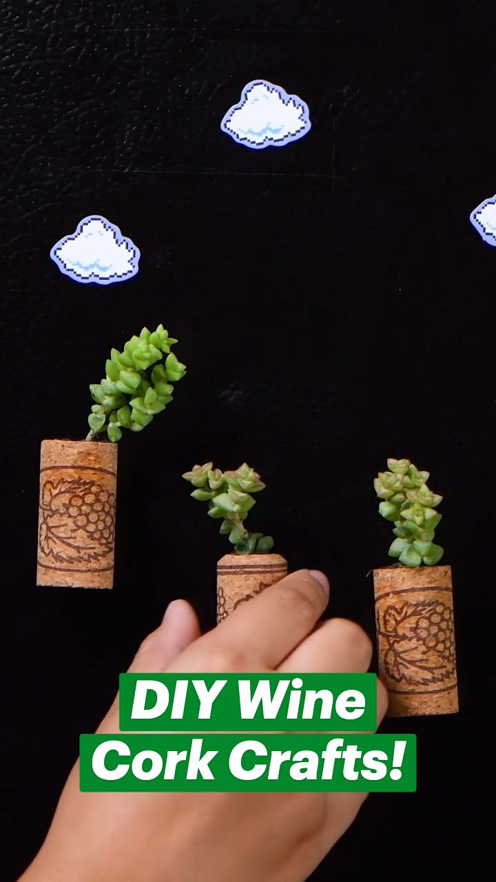 Diy Crafts To Do, Diy Crafts Hacks, New Crafts, Diy Arts And Crafts, Diy Projects To Try, Diys, Wine Cork Projects, Wine Cork Crafts, Girl Life Hacks