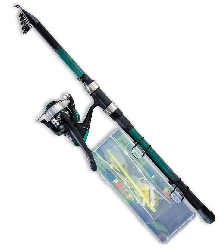 Starter Kit Pesca Completo Compatto mare - EUR 29.00