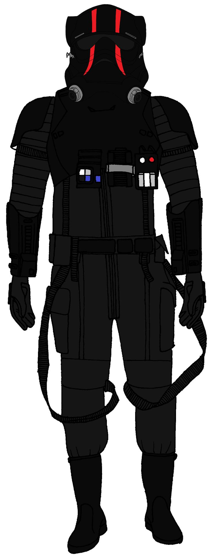 First Order TIE Special Forces Pilot