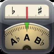 "Cleartune - Chromatic Tuner  By Bitcount ltd.    ""My most indispensable app is my guitar tuner, Cleartune. None of the old visual or analog tuners are as precise. I've even taken it on stage with me!"" - Rosanne Cash"