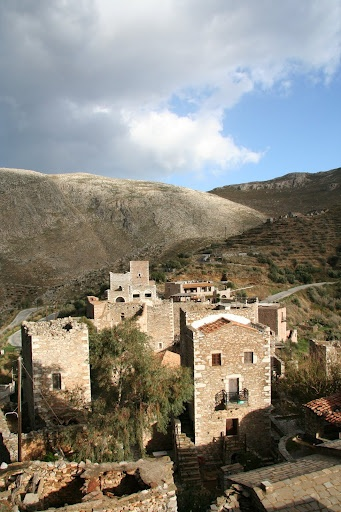 This is my Greece | Landscape of Mani in south Peloponnese. For luxury hotels in Greece visit http://www.mediteranique.com/hotels-greece/