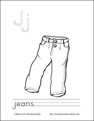 39 best LETTER J images on Pinterest | Coloring books Coloring pages and Vintage coloring books