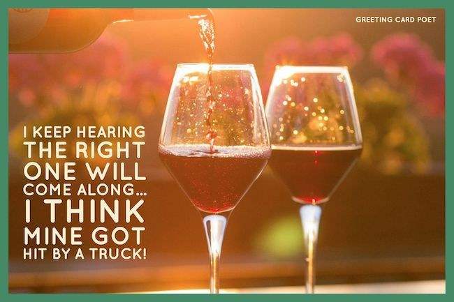 Happy Valentines Day Wishes With Love Romance Greeting Card Poet Wine Drinks Drink Wine Day Wines