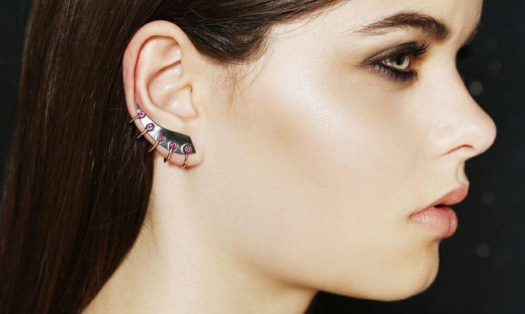 NINNA YORK Jewellery — Capstar Ruby Earrings