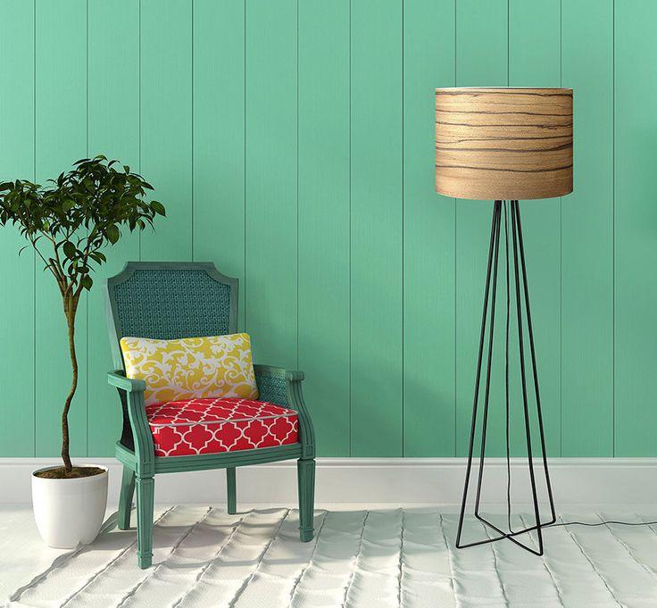 BERG Design Floor Lamp - Bolivian Walnut Veneer - Home Interior Lighting - Home Decor - Modern Meets Nature by Sponndesign on Etsy