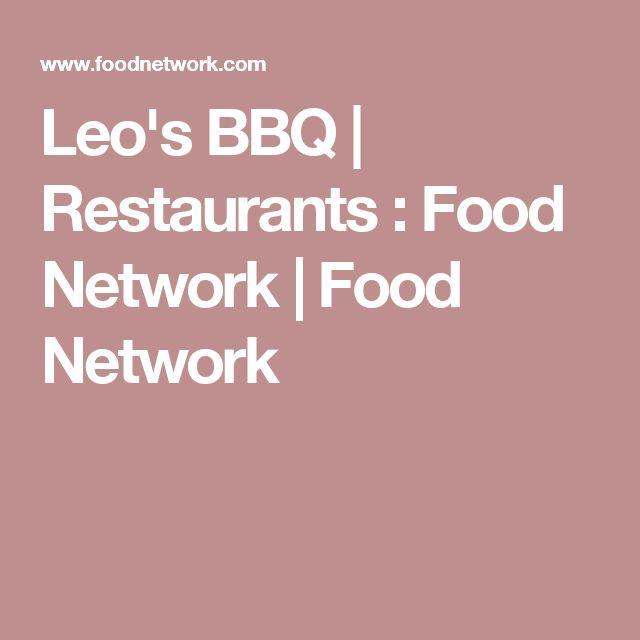 Leo's BBQ | Restaurants : Food Network | Food Network