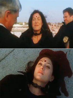 Terrorist Sniper Ari Hasawari shoots and kills NCIS Special agent Kate Todd