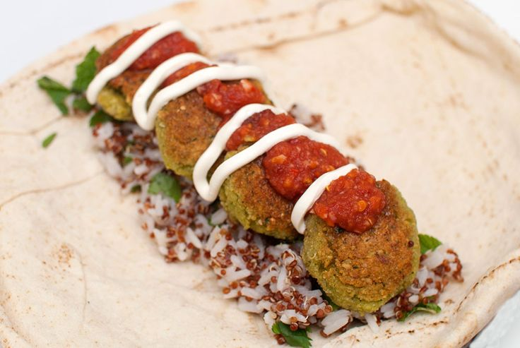 falafel vegansk oppskrift