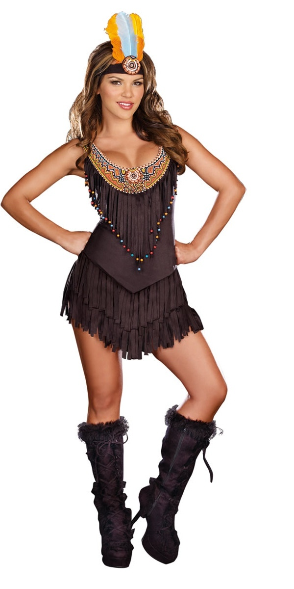 Reservation Royalty Indian Girl Costume