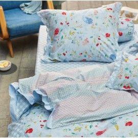Hummingbirds sengetøj - Blå