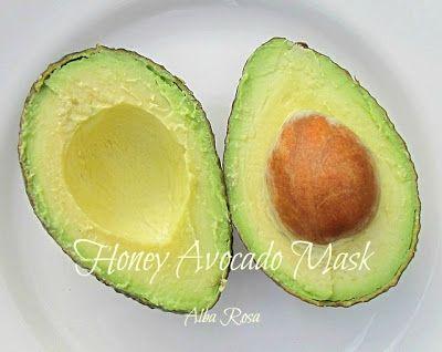 ALBA ROSA - artisan soaps and more: Honey Avocado Mask